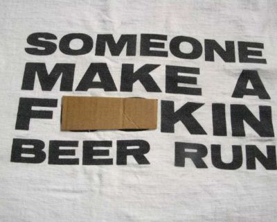 Rare / Vintage 90`s Palm Springs Beer Drinking T-Shirt