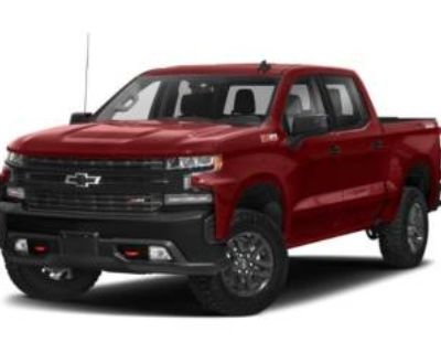 2020 Chevrolet Silverado 1500 LT Trail Boss Crew Cab Short Bed 4WD