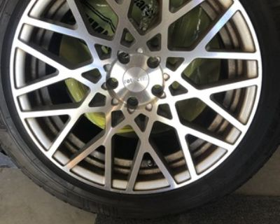 Mercedes SUV Mounted Snow Tires