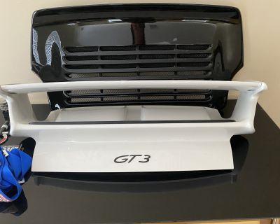 997.1 OEM GT3 rear deck lid / spoiler