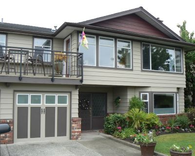 """"""" Licensed"""" three bedroom suite in a house for up to 6 people sundeck bathrooms - Richmond"""