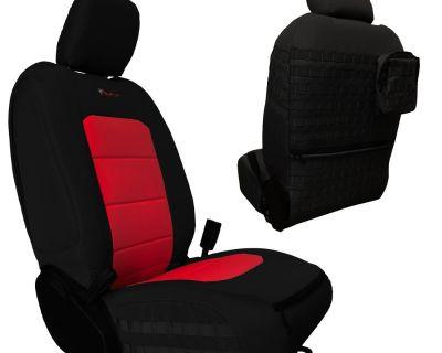 Arizona - Like new Bartact JLU Seat Covers - Black and Red