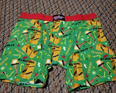 Christmas story boxers large