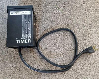 Outdoor All Weather Timer