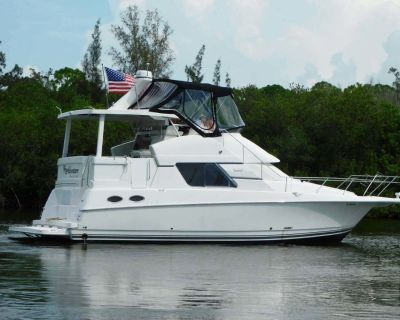 "1997 43'9"" Silverton 372 Aft Cabin Motor Yacht"