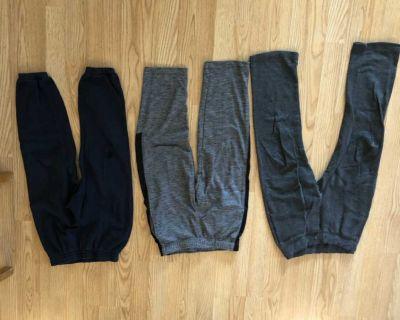 Lot of 3 sweat pants -size medium old navy