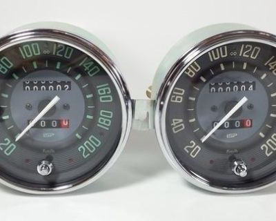 ISP Vintage Series Trip Speedometer KM