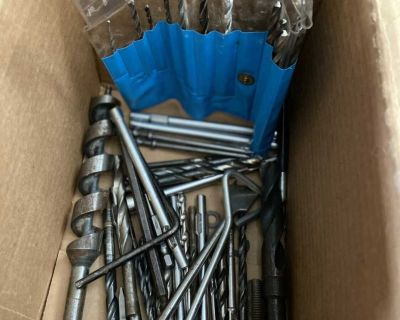 Various drill bits sizes