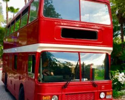 EXTREMELY RARE DOUBLE-DECKER PIZZA BUS - Leyland / Olympian / 1984
