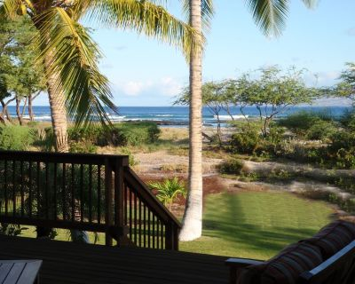 ALOHA SANDS - LUXURY BEACH FRONT with APARTMENT - Puako