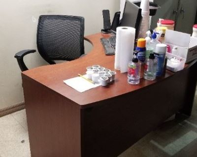 OFFICE & HOME FURNITURE / MUCH OF IT FREE