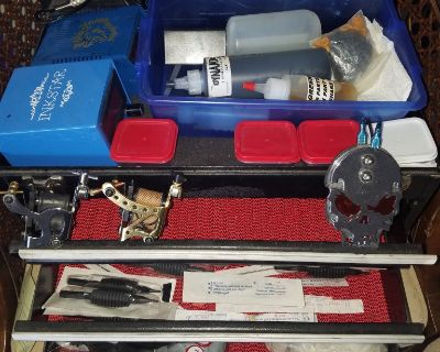2 Gun Inkstar tattoo machine kit