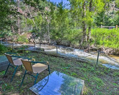NEW! Idaho Springs Cottage w/ Creek Access + Grill - Idaho Springs
