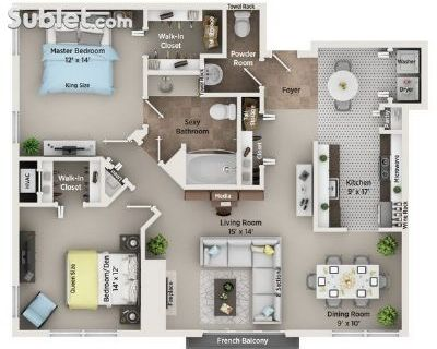 Two Bedroom In Troy