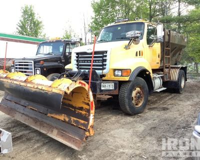 2001 (unverified) Sterling L8500 4x2 Cat Plow/Spreader Truck