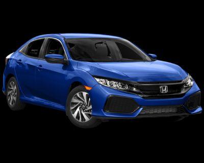 Pre-Owned 2017 Honda Civic EX FWD 4D Hatchback