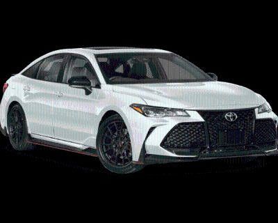 New 2021 Toyota Avalon TRD Front Wheel Drive 4