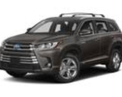 2019 Toyota Highlander Gray