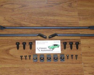 Front Spoiler Brackets And Hardware 20pc Kit 67 68 Camaro Firebird Braces