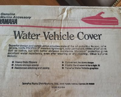 Yamaha Wave Jammer Water Vehicle Cover