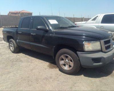 Salvage Black 2008 Dodge Dakota