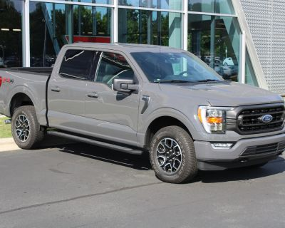 Pre-Owned 2021 Ford F-150 XLT 4WD SuperCrew