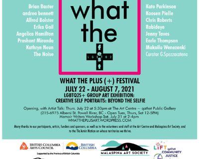 WHAT THE PLUS ARTS FEST