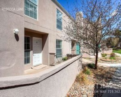 3445 Rebecca Ln #A, Colorado Springs, CO 80917 4 Bedroom Apartment