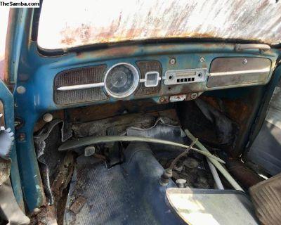 VW Beetle - 1963 - Dash