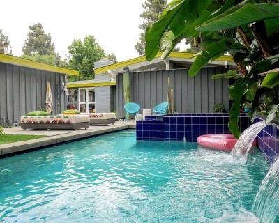 Desert-Tropical Mid-century Rancho with Pool, Long Beach, CA