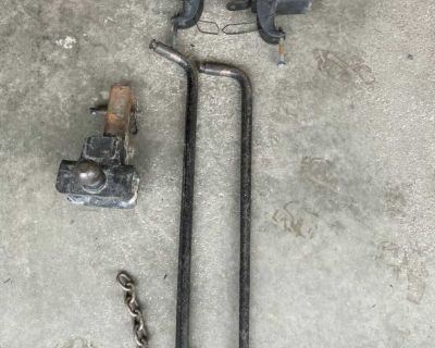 Sway bars for travel trailer