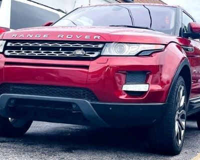 2013 Land Rover Range Rover Evoque 2dr Cpe Pure Premium