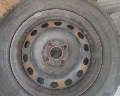 4 Rims with all season tires