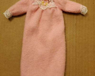 Doll Clothes long nightgown (T)
