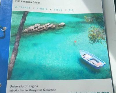 Managerial Accounting - bus 288