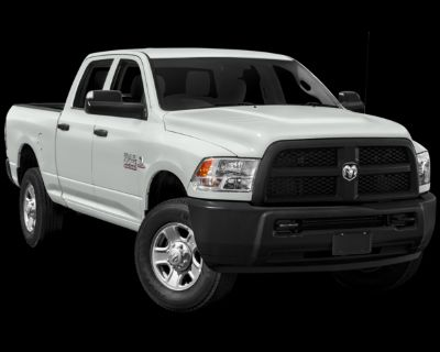Pre-Owned 2017 Ram 3500 Tradesman 4WD 4D Crew Cab