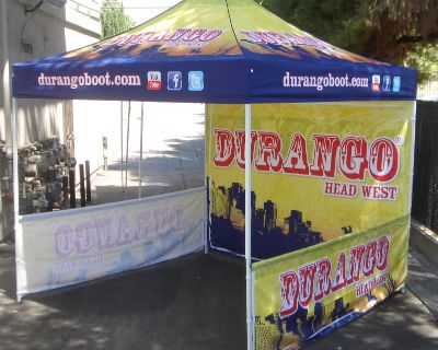 Best Distributor of Vendor tents & table covers by J.D.