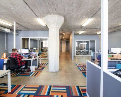 Industrial Office Space in Hip Downtown LA, Great Lighting with Open Conference Room and Kitchen, Los Angeles, CA