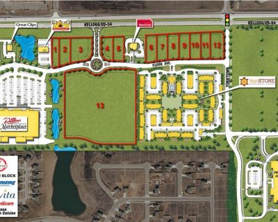 Kellogg & Andover Development Land For Sale