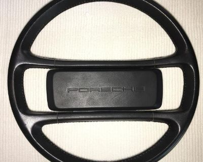 Modified Leather Steering Wheel '64-'73