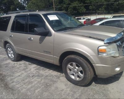 Salvage Beige 2008 Ford Expedition