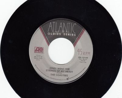 COASTERS ~ Zing Went The Strings Of My Heart *Mint-45 !