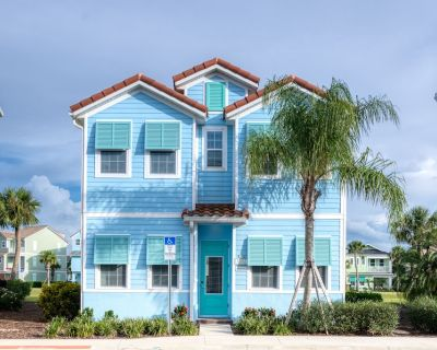 Bright Cottage with Pool & Amenity Access near Disney at Margaritaville - 8032Sh - Four Corners