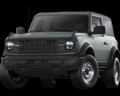 New 2021 Ford Bronco Big Bend 4WD Convertible