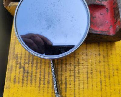 Bug round tint driverside mirror