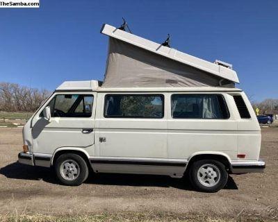 1991 Volkswagen Vanagon Westfalia Weekender Camper Van