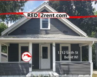 1212 6th St #1, Beloit, WI 53511 3 Bedroom Apartment
