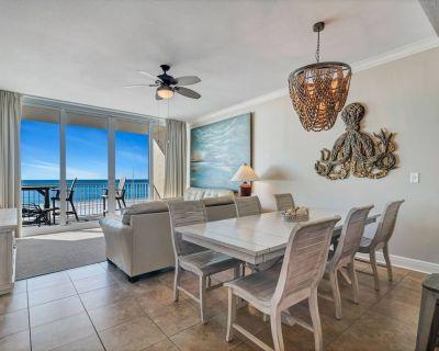 3rd Floor Gulf-front | Outdoor zero-entry pool, Sauna, Fitness, BBQ | Free fishing, golf, OWA tix - Gulf Shores