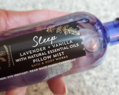 5.3 FL.OZ, BATH AND BODY WORKS, SLEEP, LAVENDER & VANILLA SPRAY, BRAND NEW NEVER BEEN OPENED, EXCELLENT CONDITION, SMOKE FREE HOUSE