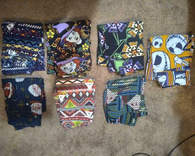 Lularoe leggings Christmas and Halloween